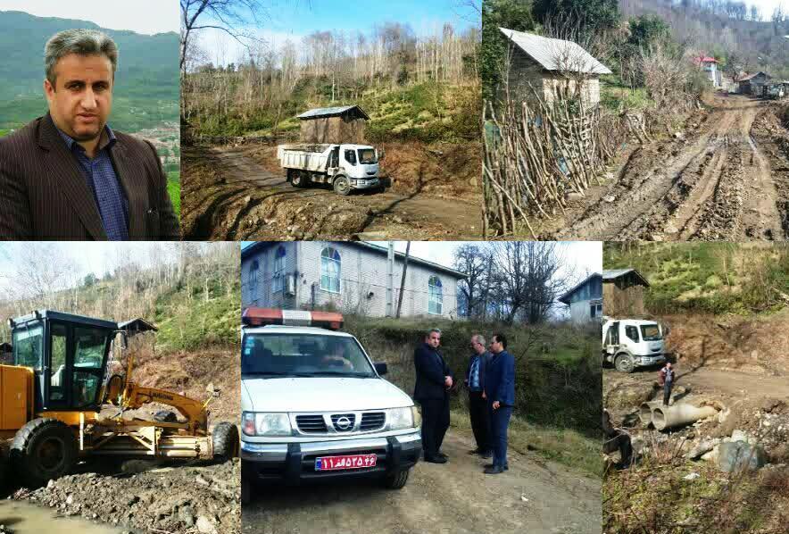 بخشدار اطاقور : بیش از ۲۵ کیلومتر از راه ارتباطی  روستاهای این بخش ؛آسفالت می شود.