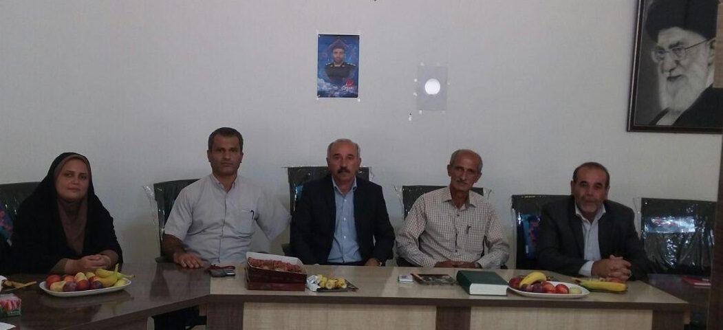 گفتگو با اعضای شورای اسلامی شهر شلمان به مناسبت گرامیداشت روز شورا