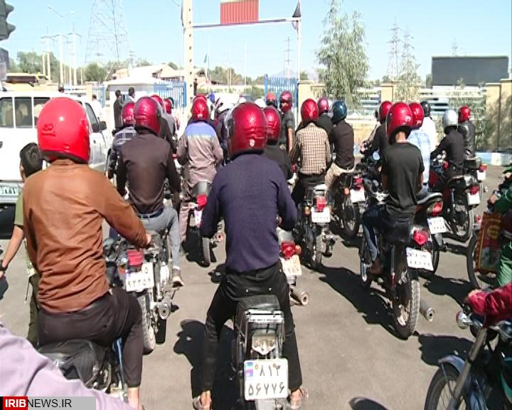 اهدای ۱۷ هزار کلاه ایمنی در بین موتورسیکلت سواران گیلانی تا پایان سال جاری