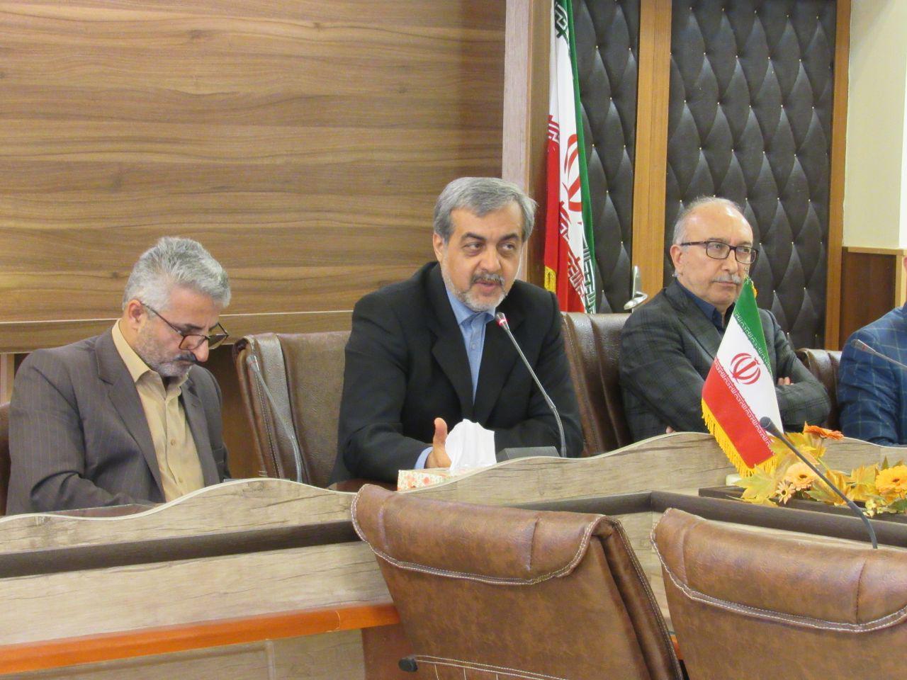 حضور مدیران کل اداره تعاون و راهداری و راه و شهرسازی در لاهیجان