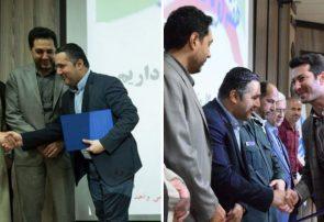 مجاوری و رجایی بهعنوان مدیران جوان و نمونه هفته دولت انتخاب شدند
