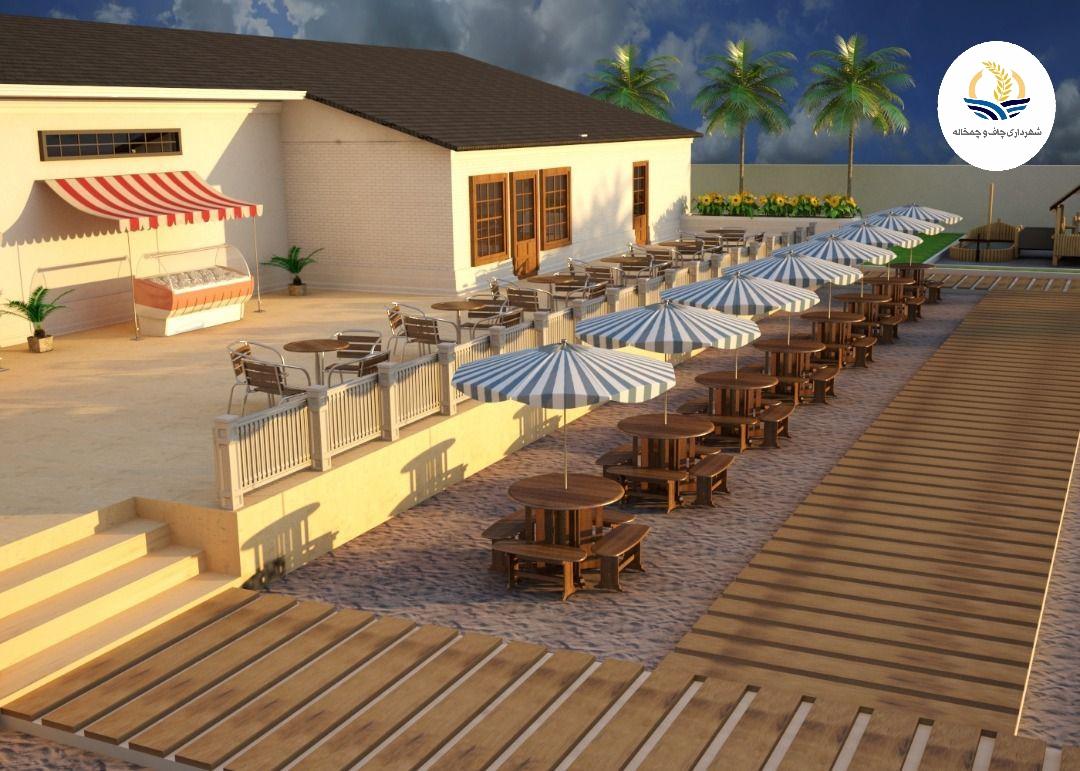 احداث امکانات ویژه بانوان در ساحل چمخاله برای نخستین بار در استان گیلان + تصویر طرح