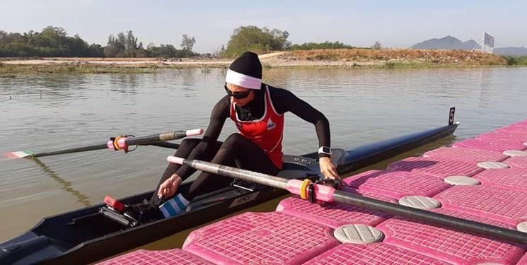 دابلِ دختر طلایی در روئینگ کاپ آسیا
