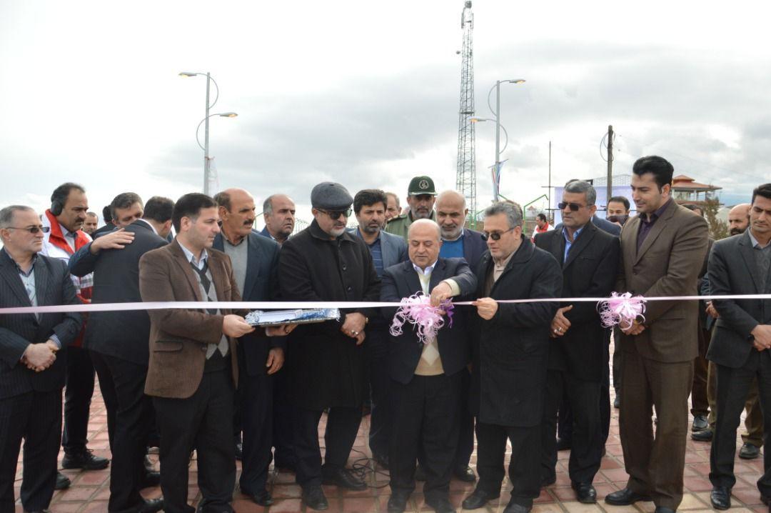 افتتاح پروژه های شهرداری کلاچای در دومین روز از دهه فجر ۹۸