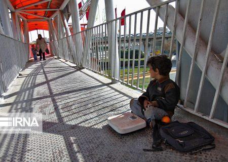 نیمی از ۱۲۵ کودک کار در گیلان مستمری بگیر هستند