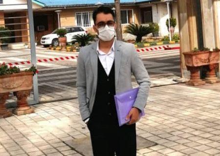 یک خبرنگار جوان کاندیدای انتخابات شورای شهر لاهیجان شد
