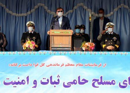 ارتش مایه آرامش آحاد ملت ایران