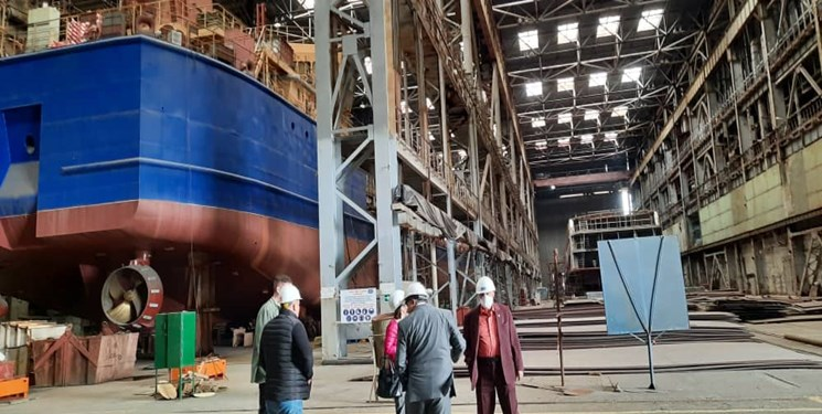 علاقهمندی روسیه برای سرمایهگذاری مشترک با ایران در صنعت کشتیسازی