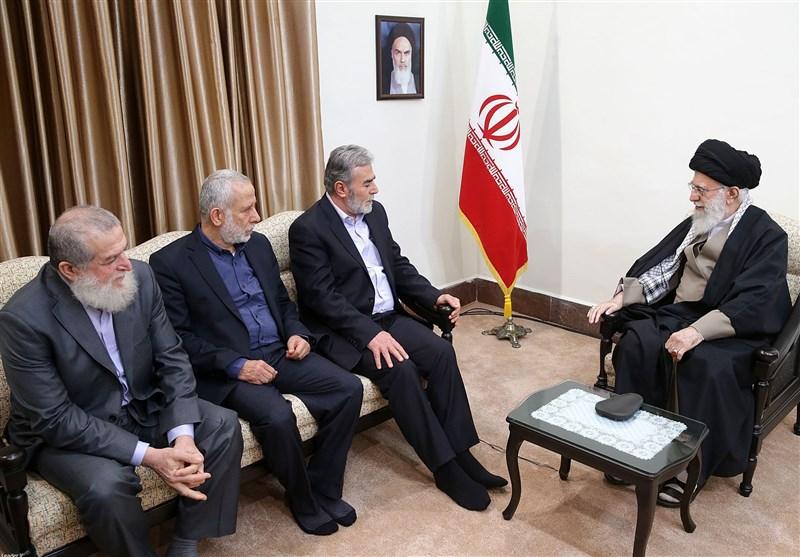امام خامنهای: تشکیل حکومت فلسطینی در تلآویو محقق خواهد شد