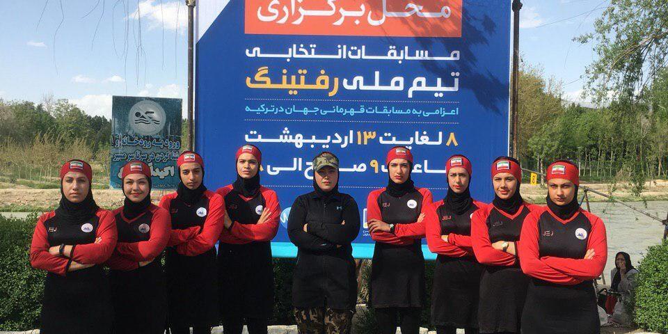 کسب مقام سوم و چهارم، تیم قایقرانی بانوان لاهیجان