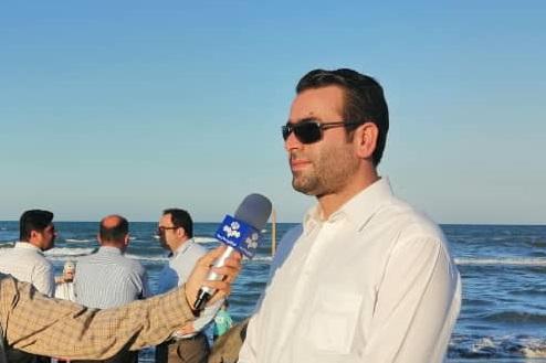 چهارمین جشنواره روز دریای کاسپین و کنسرت کمدی خنده در ساحل چاف برگزار شد