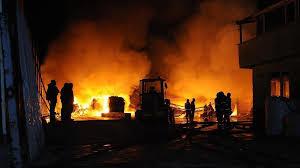 مهار دو آتشسوزی در خمام طی۲۴ ساعت گذشته