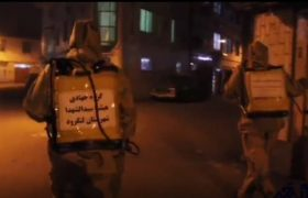 فیلم| جهاد بچه هیئتیهای لنگرود در نبرد با کرونا