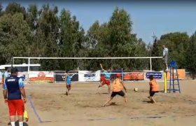 نائب قهرمانی گیلان در رقابت های والیبال ساحلی کشور