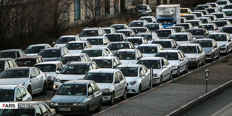 ترافیک «سنگین» در معابر منتهی به بهشت زهرا/ممنوعیت تردد شبانه در «جادهها» نداریم!