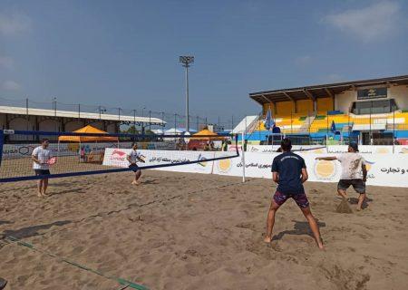 لیگبرتر تنیس ساحلی کشور به میزبانی منطقه آزاد انزلی آغاز شد