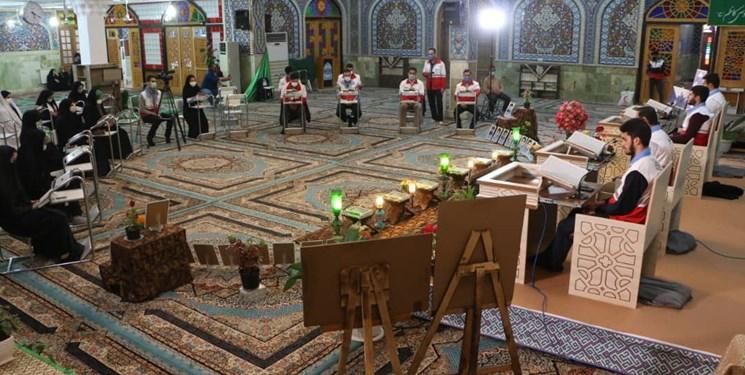 فیلم| دورخوانی قرآن امدادگران جمعیت هلال احمر در دیار سلطان