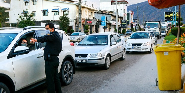 ممنوعیت تردد بینشهری در گیلان